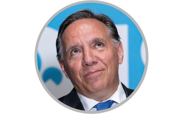 فرانسوآ لگال، رهبر حزب CAQ (ائتلاف آینده کبک)