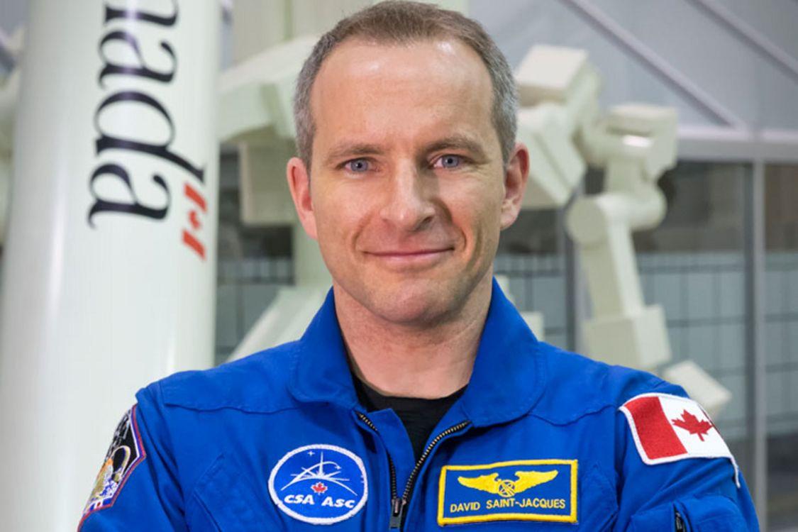 دیوید سنژاک، فضانورد بعدی کانادا / CRÉDIT : PAT BEAUDRY