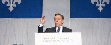 فرانسوآ لوگو میگوید «سادهانگارانه است اگر ادعا کنیم میشود مشکل کمبود نیروی انسانی متخصص را در کبک فقط با مهاجرت حل کرد» \ Photo: Jacques Boissinot / THE CANADIAN PRESS