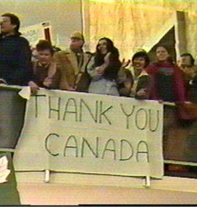 : کانادا، متشکریم
