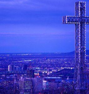 صلیب تپه مونترویال، یکی از نمادهای شهر مونترال است