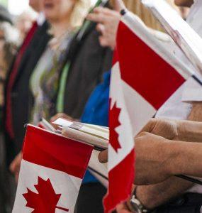 مراسم شهروندی کانادا