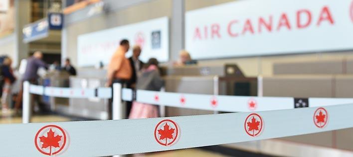 گیت پذیرش مسافر ایرکانادا / photo : aircanada.com