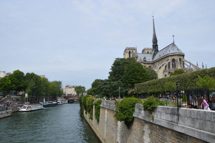 کلیسای نوتردام در آخرین سفر من به پاریس / تابستان ۲۰۱۵ / image: Parisa Kooklan