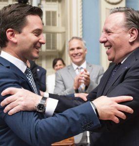 تصویب نهایی قانون ۲۱ (THE CANADIAN PRESS/Jacques Boissinot)