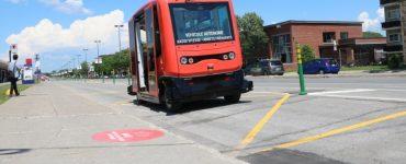 اتوبوس بدون راننده مونترال