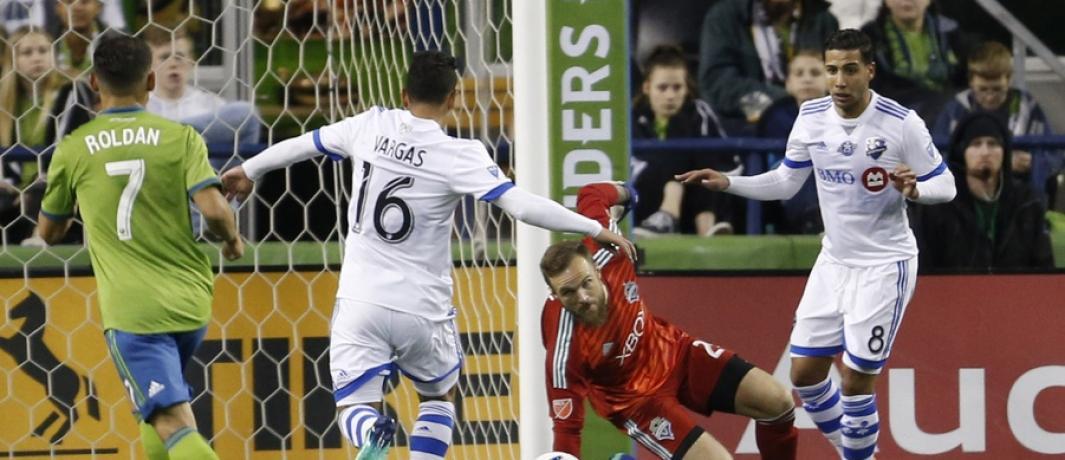 ایمپکت مونترال در چهارمین بازی خود در جام MLS و در مصاف با سیاتل ساندرز، به دومین برد پیاپی دست یافت
