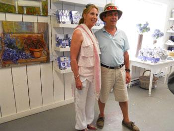 Pierre and Christine Pellerin / Photo: Habeeb Salloum
