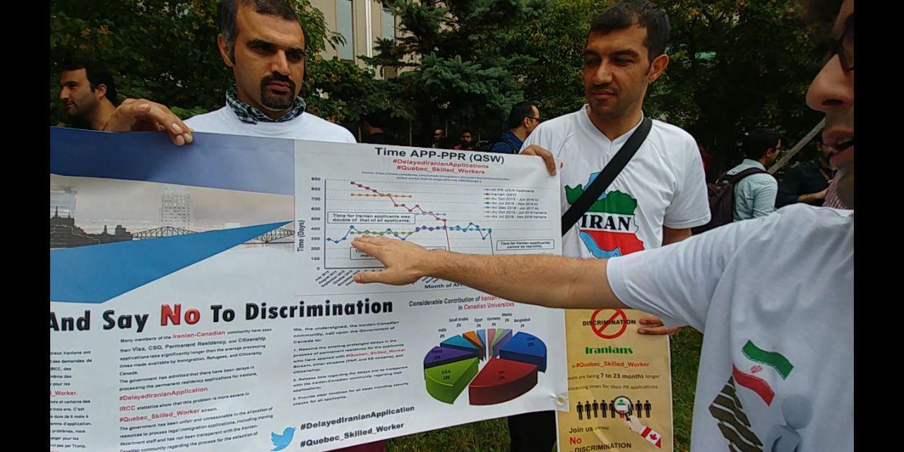 اعضای کمپین اعتراض با عدد و رقم و نمودار ادعاهای دولت کانادا را رد کردند