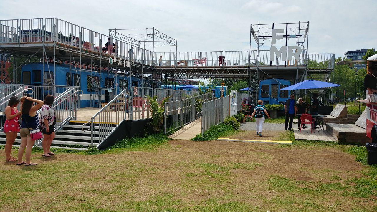 ایستگاه FMR در امتداد کانال لاشین
