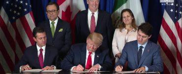 رهبران سه کشور کانادا، ایالات متحده و مکزیک امروز قرارداد جدید تجاری بین این سه کشور را امضا کردند / Photo: The White House