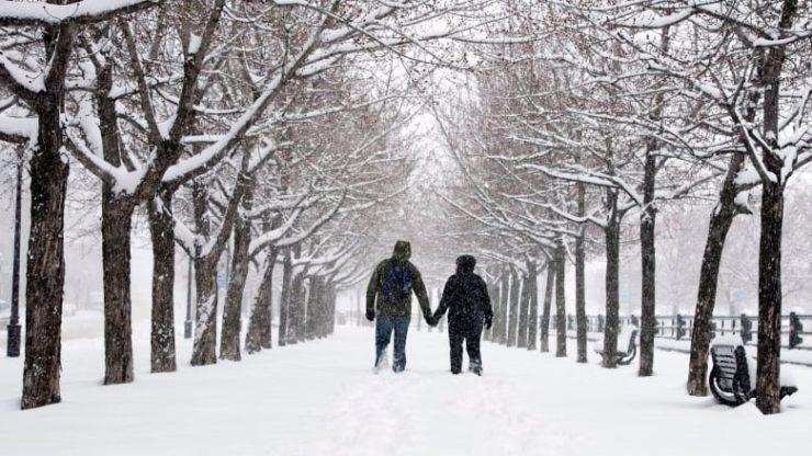 سرمای شدید ۲۲ نوامبر در مونترال / Ryan Remiorz/Canadian Press