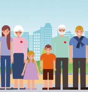 «اسپانسرشیپی والدین» در کانادا، فرصتی برای جمع شدن دوباره خانوادهها دور هم است.